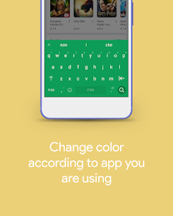 Chrooma - Android P Keyboard, Hydrogen, GIF,  Free Screenshot
