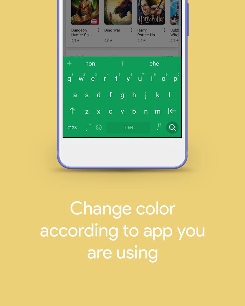 Hydrogen Keyboard Chrooma- Slim, Cyanogen, Lineage Screenshot 0