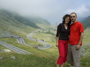 Photo: Asortati in rosu pe Transfagarasan
