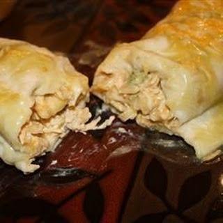 Jalapeno Cream Cheese Chicken Enchiladas.