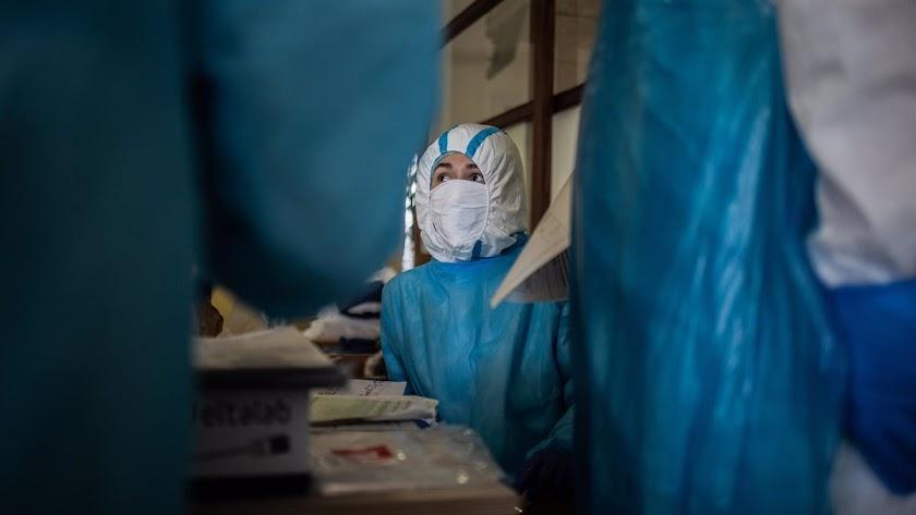 Los hospitales almerienses siguen registrando la presión más alta de toda la pandemia.