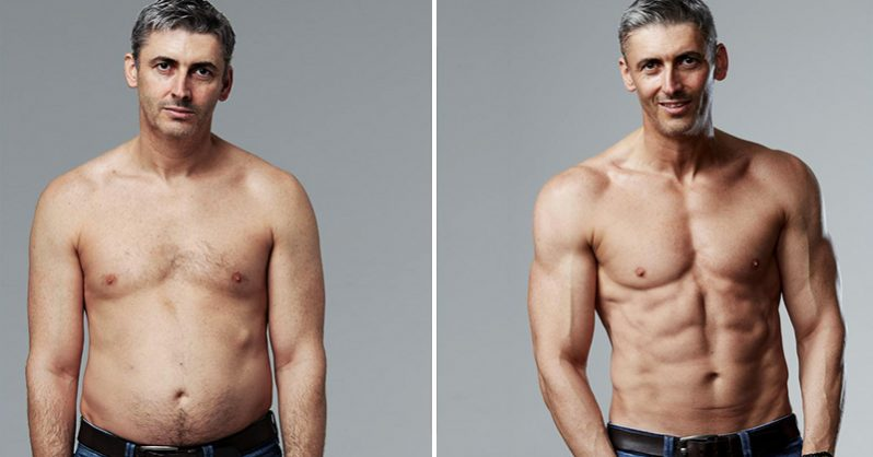 "Overweight 45-Year Old Father Reveals His Secrets For Transforming His ""Dad Bod"" In Just 12 Weeks"