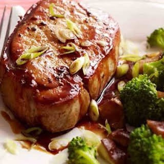 Pressure Cooker Asian-Style Pork Chops.