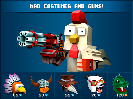 Mad GunZ - FPS online shooter, map craft  screenshots 7