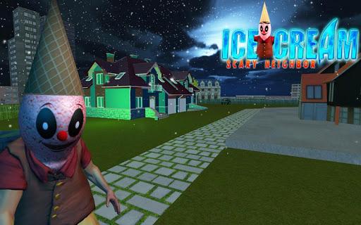 Hello Ice Scream Scary Neighbor - Horror Game apkbreak screenshots 1