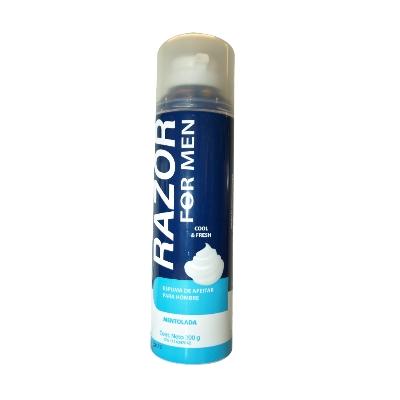crema afeitar razor espuma mentolada 200gr Razor