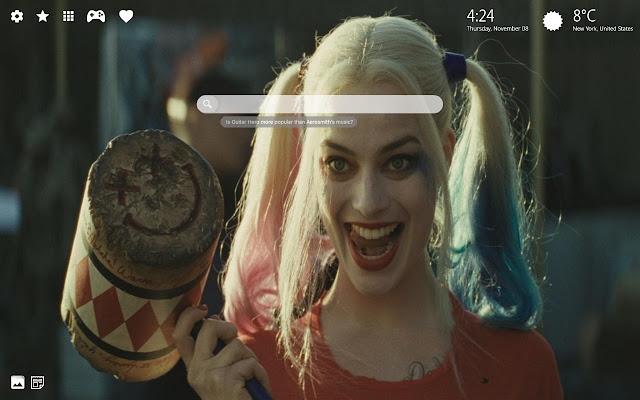 Harley Quinn Wallpaper Hd New Tab