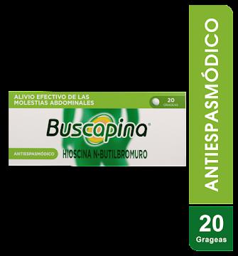 BUSCAPINA 10MG GRAGEAS