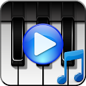 Piano songs with rain icon