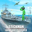Stickman Naval Warship Strike icon
