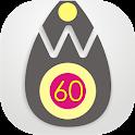 White 60 - THEME & ICONPACK icon
