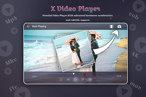 Christmas Video Player for PC