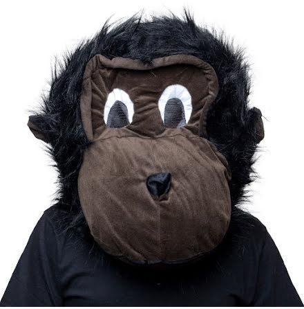 Maskothuvud, gorilla