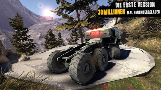 LKW-Fahrer 3D: Offroad 2 Screenshot