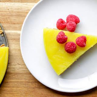 Vegan Lemon Pie.