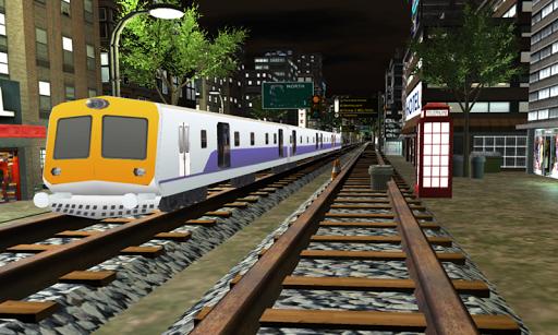 Train Driving Simulator Mumbai Local 3D  screenshots 1
