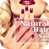 Natural Hair and Nail Art
