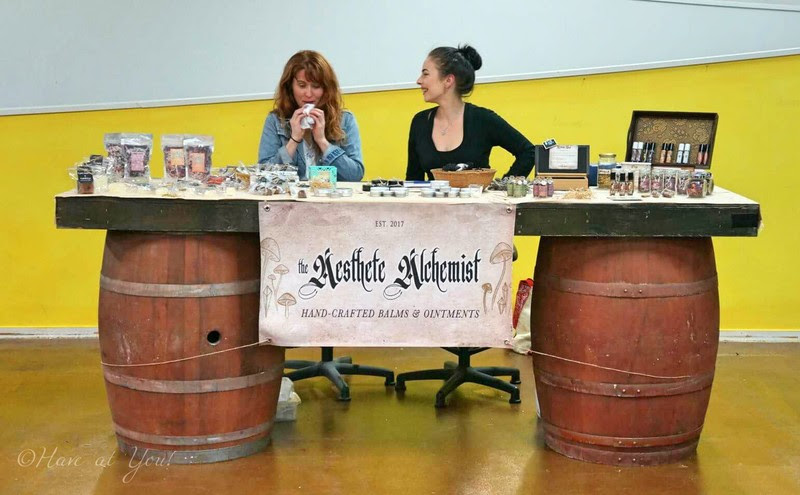 Aesthete Alchemist booth
