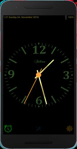 PC u7528 Nice Night Clock with Alarm and Light - no Ads 1