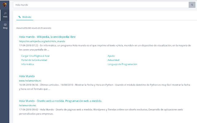 Globb Search Engine