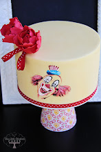 Photo: Such a Clown by Three Little Blackbirds (TLB Cakes) (5/23/2012) View cake details here: http://cakesdecor.com/cakes/16258