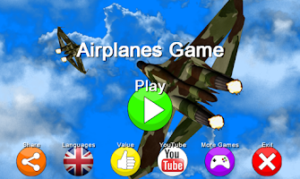 Screenshot of airplanes game