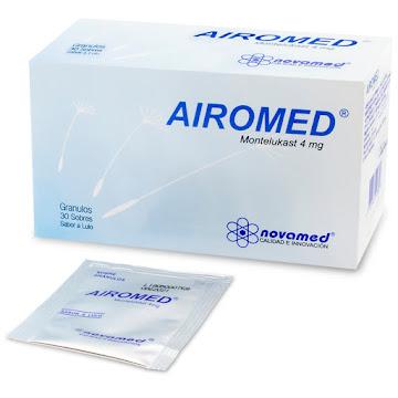 Airomed Lulo 4Mg Sobres   Caja x30Sob. Novamed Montelukast