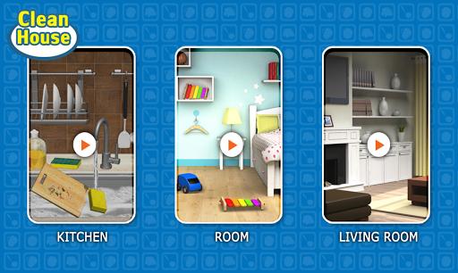清潔遊戲 - 乾淨的房子