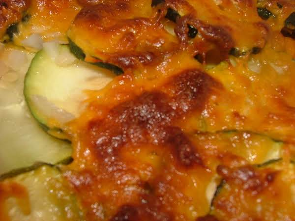 Cheesy Zucchini And Potatoes Recipe