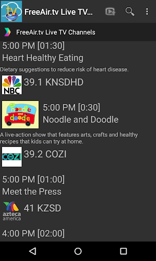 FreeAir.tv: Watch, Pause, Record Live TV anywhere 3.12.01 screenshots 2