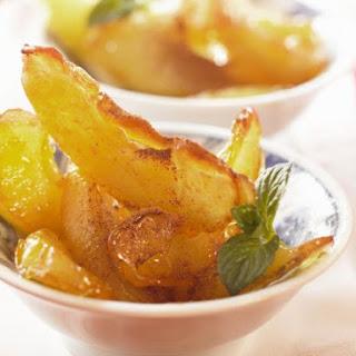 Fried Apple Wedges
