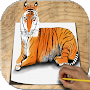 How to Draw Animals 3D by StudioOne APK icon