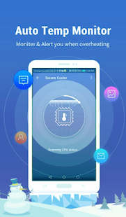 App Cool Down Phone Temperature ❄ Battery Cooler CPU APK for Windows Phone