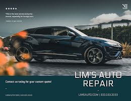 Lim's Auto Repair - Brochure item
