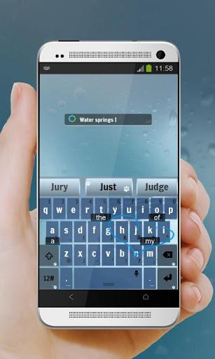 泉水Quánshuǐ TouchPal 主题|玩個人化App免費|玩APPs