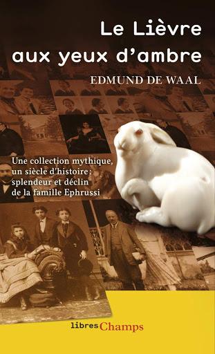 Edmund De Waal, Le lièvre aux yeux d'ambre, Éditions Albin Michel, 2011.