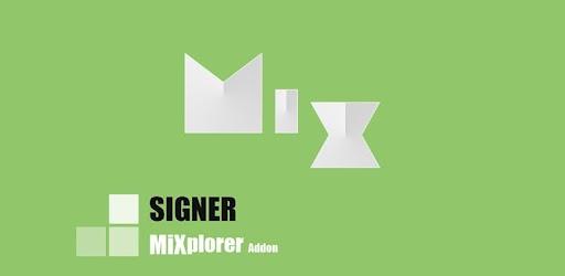 MiX Signer 1 2 apk download for Android • com mixplorer