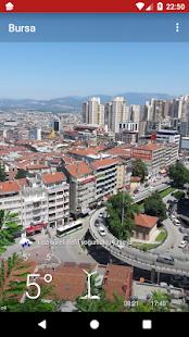 Bursa Hava Durumu Tahmini - náhled