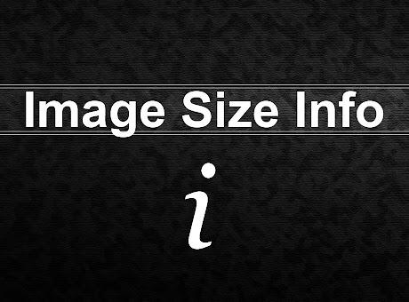 Image Size Info