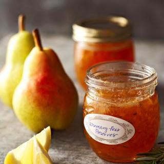 Rosemary-Pear Preserves