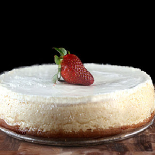 Skinny Cheesecake with Two Options Recipe