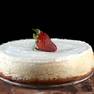 Skinny Cheesecake with Two Options.