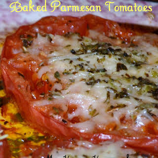 Baked Parmesan Tomatoes.