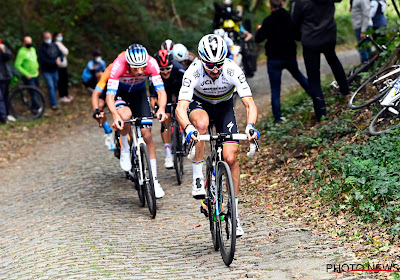 """Alaphilippe nog gemotiveerder voor Ronde van Vlaanderen: """"Als Wout en Mathieu ergen starten, zijn zij ook topfavoriet"""""""
