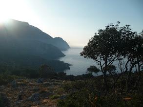 Photo: Sur les hauts de Sougia recherche d'un deco