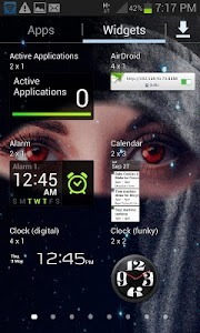 Red Eyes Live Wallpaper screenshot 2
