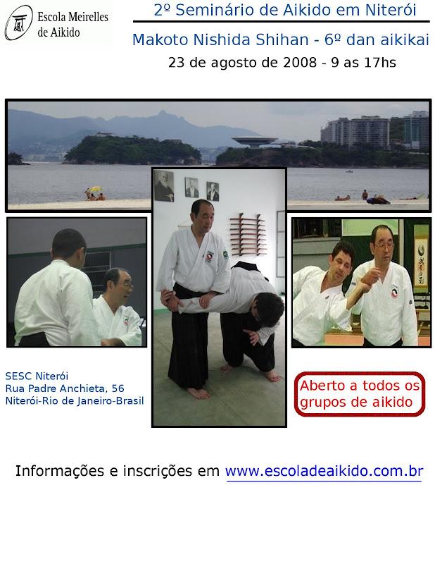 2º Seminário Com Nishida Shihan Em Niterói, RJ