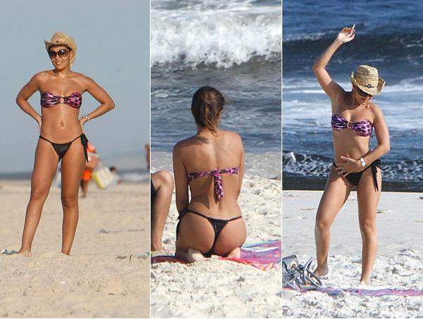 Juliana Paes na Praia