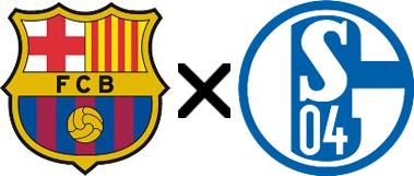 Barcelona x Schalke 04
