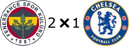 Fenerbahçe 2x1 Chelsea